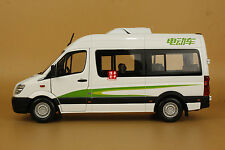 1:24 CHINA Golden Dragon Higer BUS diecast model white color