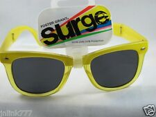 E68:New $9.99 Foster Grant Surge Women's Foldable Sunglasses from USA-Yellow
