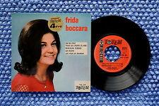 FRIDA BOCCARA / EP TOTEM TO 23 / BIEM 1961 Réédition 1970 ( F )