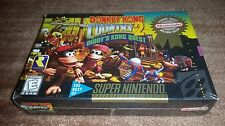DONKEY KONG COUNTRY 2 DIDDY KONG QUEST PLC SUPER NINTENDO SNES NEW SEALED!