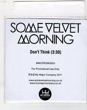 (ET232) Some Velvet Morning, Don't Think - 2011 DJ CD