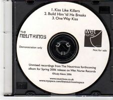 (EX718) The Neutrinos, Kiss Like Killers - 2006 DJ CD