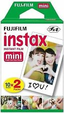 FUJIFILM INSTAX  MINI 8 Film Cartridges (10 Sheets x 2 Packs) 20 SHEETS