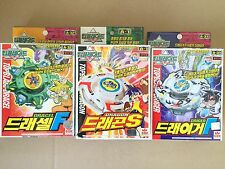 Lot Of 3pcs Beyblade A32 A31 A1 Dragon S Spin Gear System Topblade With Launcher