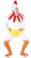 MENS VERY SILLY CHICKEN HEN COSTUME STAG NIGHT BIRD FARM FANCY DRESS OUTFIT NEW