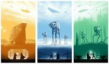 Classic Star wars IV, V, VI - Amazing - Huge Poster 34in x 20in - Fast Shipping