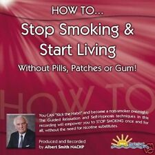 HOW TO STOP SMOKING & START LIVING - ALBERT SMITH - CD