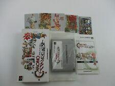 Chrono Trigger With Prism Card Super Famicom SFC SNES Japan Ver