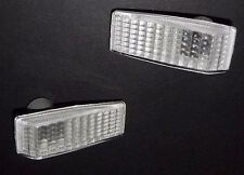 MERCEDES E-CLASS C-CLASS S-CLASS 190 Front Wing indicators Repeaters Pair Clear