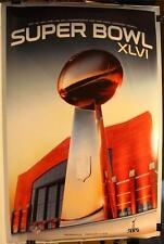 "2012 Super Bowl XLVI Trophy New York Giants Champions 24 x 36"" Poster"