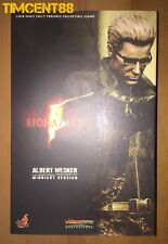 Ready! Hot Toys VGM08 Resident Evil Bio Hazard Albert Wesker Midnight Ver 1/6