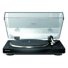 PIONEER AUDIOPHILE STEREO TURNTABLE PL-30-K - WITH DUAL-LAYERED CHASSIS BLACK