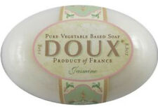 DOUX French JASMINE Fragrant Floral Shea Butter Bath Soap XL HANDMADE New