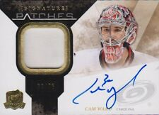 10-11 The Cup SIGNATURE PATCHES xx/75 Made! Cam WARD - Hurricanes