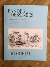 CATALOGUE VENTE ENCHERES ARTCURIAL /19 NOVEMBRE 2016 / PARIS/ BANDES DESSINEES