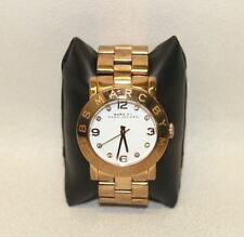 MARC MARC JACOBS Damas Rose Oro BY De Acero Inoxidable Reloj Análogo De MBM3077