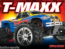 Traxxas Nitro T-Maxx 2.5 R/C 4WD RTR Truck W/ Battery/Charger 2.4 TRA491041