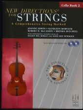 New Directions for Strings, Cello Book 2 with 2 CDs