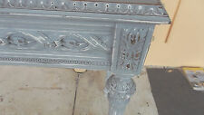 Antique Style Hand Painted Console Table, French Style.Or Desk