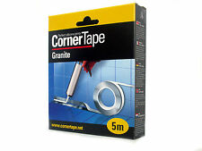 Corner Tape 5m perfect silicone sealant for Kitchen Bathroom and shower XS2.5mm