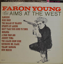 FARON YOUNG - AIMS AT THE WEST -  MERCURY STEREO SR 60840 LP (X409)