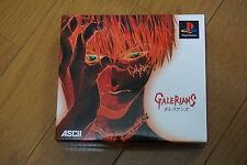 Galerians Limited Box Set Sony Playstation Japan Tested! Rare!