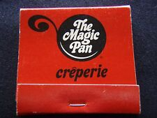THE MAGIC PAN CREPERIE RED MATCHBOOK