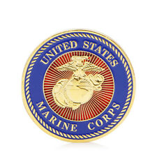 Gold Plated U.S. Marine Corps Core Force Recon Challenge Commemorative Coin Gift