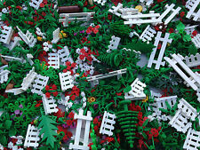 LEGO - 10 NEW Random Pieces Of Garden Accessories - Plants, Flowers, Grass, Stem