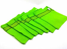 (7PCS) Body Scrub Bath Massage Scrubber Exfoliating Italy Wash Cloth Towel Korea