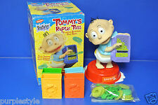 1999 NICKELODEON RUGRATS TOMMY'S REPTAR TOSS BY MATTEL BATTERY OPERATED COMPLETE