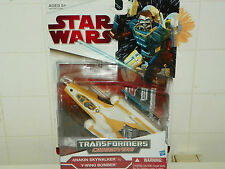 Star Wars Transformers Anakin Skywalker to Y Wing Bomber