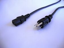 Japanese mains plug black power cable to IEC kettle connector (Japan)