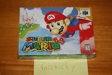 Super Mario 64 (Nintendo 64 N64) NEW SEALED V-SEAM, FIRST PRINT, NO TEARS, RARE!