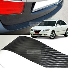 Carbon Rear Bumper Protector Decal Sticker Cover for HYUNDAI 2006-2010 Sonata NF