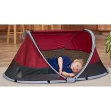 Kidco Peapod Travel Bed in Cranberry Brand New!! P3010