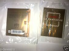 2 SEALED Cartier La Panthere Eau De Parfum Sample Spray Vial Travel NEW