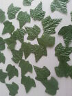 100 GREEN SILK LEAVES LEAVES/CRAFTS/DECORATION/WEDDING/FLOWERS/christmas