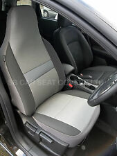 HYUNDAI I800 CAR SEAT COVERS- SHEEN GREY CLOTH FABRIC - 2 FRONTS