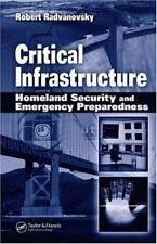 Critical Infrastructure: Homeland Security and Emergency Preparedness-ExLibrary