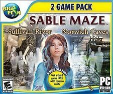 Big Fish: Sable Maze 1: Sullivan River and Sable Maze 2: Norwich Caves - PC by