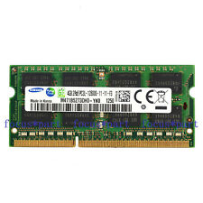 Samsung 4GB PC3L-12800 DDR3L 1600Mhz 204pin SODIMM Laptop Memory NON-ECC 1.35v