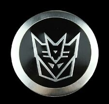Auto Car/ Motorcycle Transformer 55MM Logo Emblem Badge Sticker Decal Chrome New