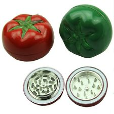 Metal tomato Shaped Herbal Herb Spice Smoke Muller Tobacco Grinder Crusher New