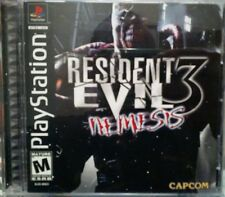 Resident Evil 3: Nemesis (Sony PlayStation 1, 1999) complete!