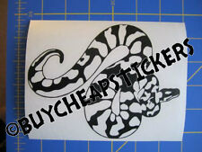 Python - Boa - Snake Vinyl Decal - Sticker 5x6 - Any Color