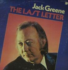 Jack Greene(Vinyl LP)The Last Letter-Vocalion-VL 73926-US-VG-/VG