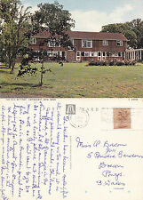 1988 THE OLD RECTORY CROWHURST SUSSEX COLOUR POSTCARD