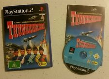 Thunderbirds Sony PlayStation 2 PS2 Game Classic Action Adventure Gerry Anderson
