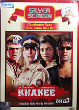 Khakee - Amitabh Bachchan, Aishwarya Rai, Ajay Devgn, Akshay - Hindi Movie DVD